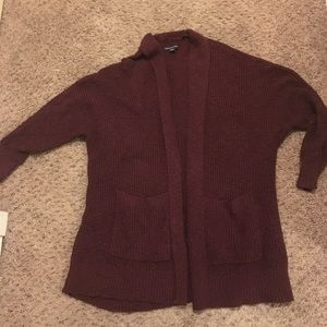 Burgundy sweater. Size Medium. Loose and comfy
